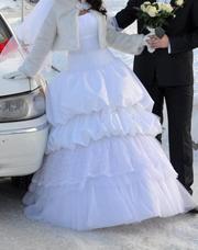 Продам шикарное свадебное платье от Олега Бабурова!