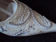 Свадебные туфли,  отличное состояние,  очень красивые