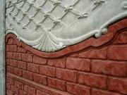 Элитные еврозаборы,  тротуарная плитка, облицовочный камень